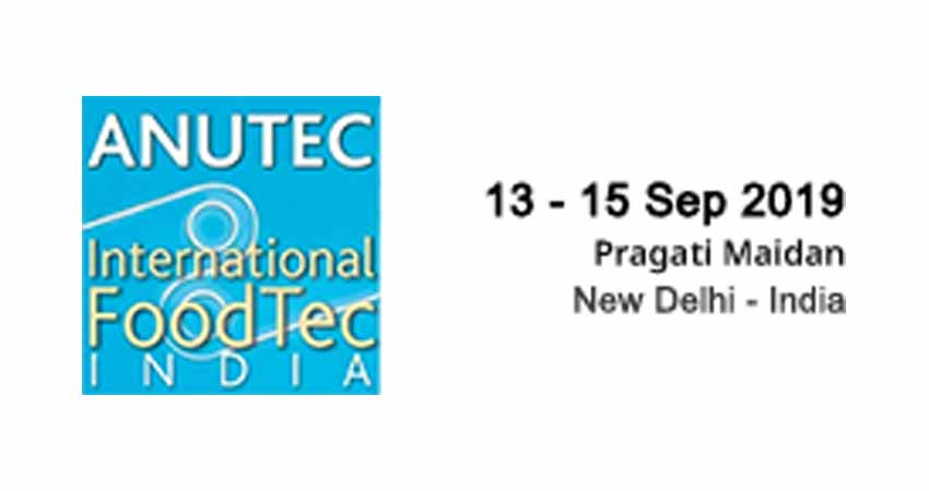 Stall Designer and Fabricator for International FoodTec India: ANUTEC